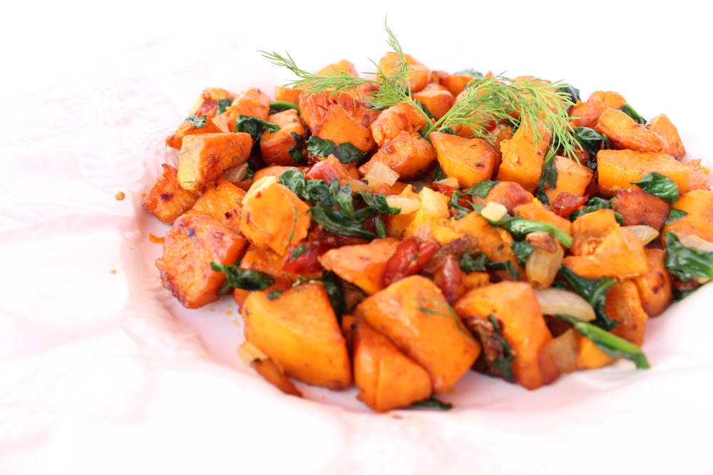 Sweet Potato & Herbs 4